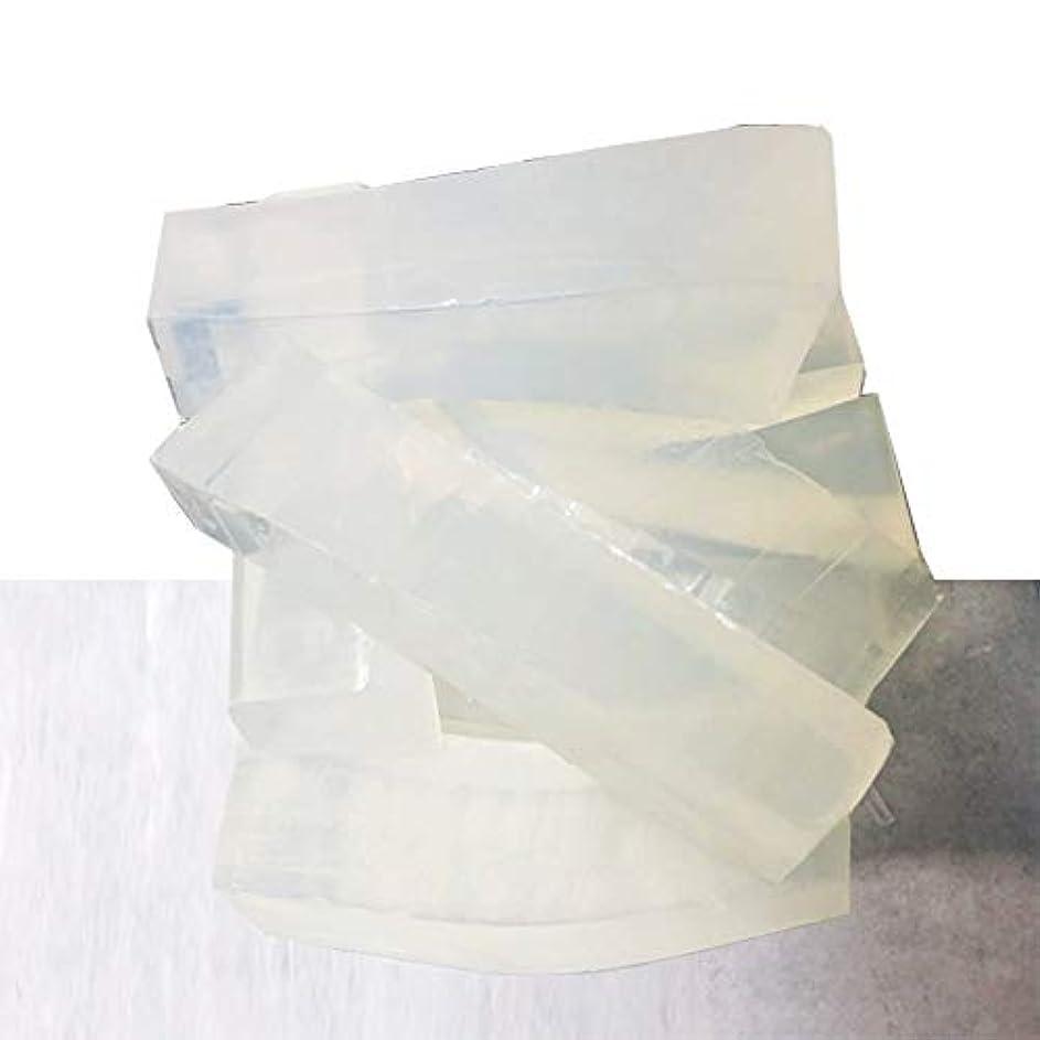 家中世の粗いグリセリンソープ(MPソープ)2kg(2,000g)クリア