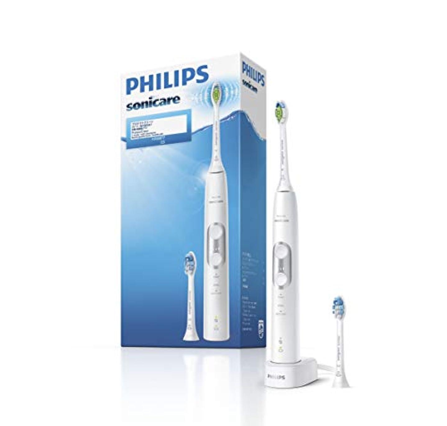 ここにロック解除遺伝的フィリップス ソニッケアー プロテクトクリーン プレミアム 電動歯ブラシ ホワイト HX6877/25