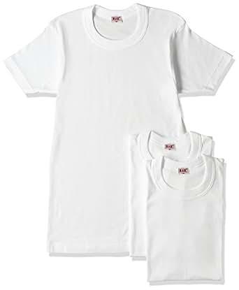 (ビー・ブイ・ディ)B.V.D. GOLD 綿100% 丸首半袖Tシャツ 3枚組 G013TS3P WH ホワイト L