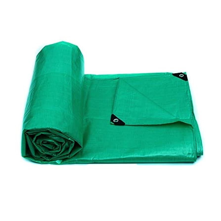 カエルアジア人一ZX タープ ターポリン 100%防水 クリア PE プラスチック 布 キャンプ用、釣り、園芸 120g/平方メートル テント アウトドア (色 : 緑, サイズ さいず : 4x5m)