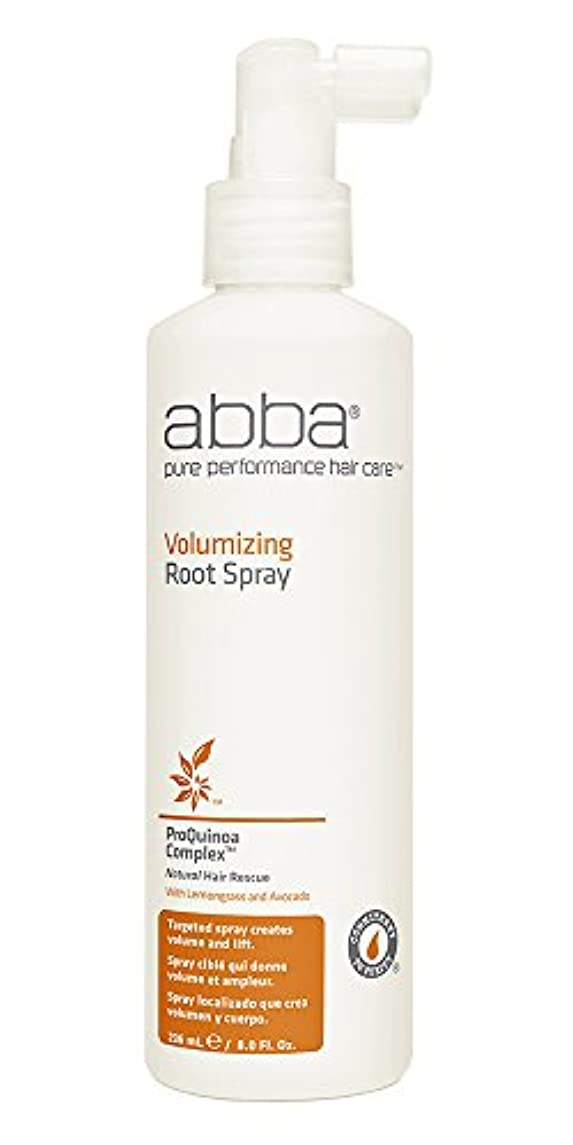 ベットマリン去るby Pure & Natural Hair Care VOLUMIZING ROOT SPRAY 8 OZ by ABBA