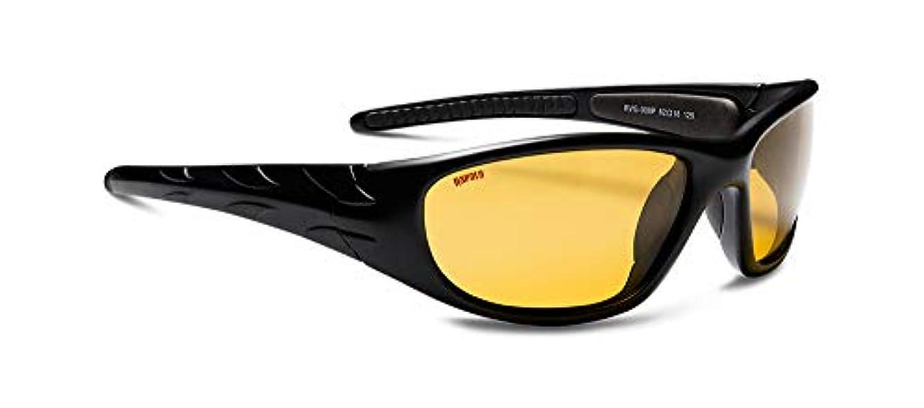 付与漏斗インストールラパラ(Rapala) ヴィジョンギア スポーツマンズ フローター マットブラック チョウコウイエロー Rapala Vision Gear Sportsman's Floater RVG-008P