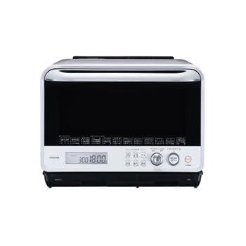 東芝 加熱水蒸気オーブンレンジ 30L 石窯ドーム グランホワイト ER-ND300(W)