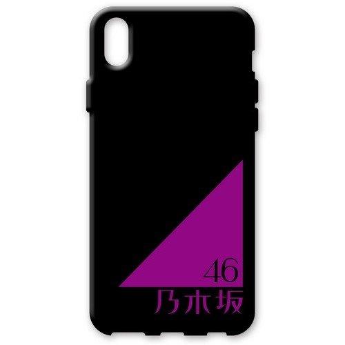 iPhoneX ソフトケース 《乃木坂46》 黒/ロゴ...