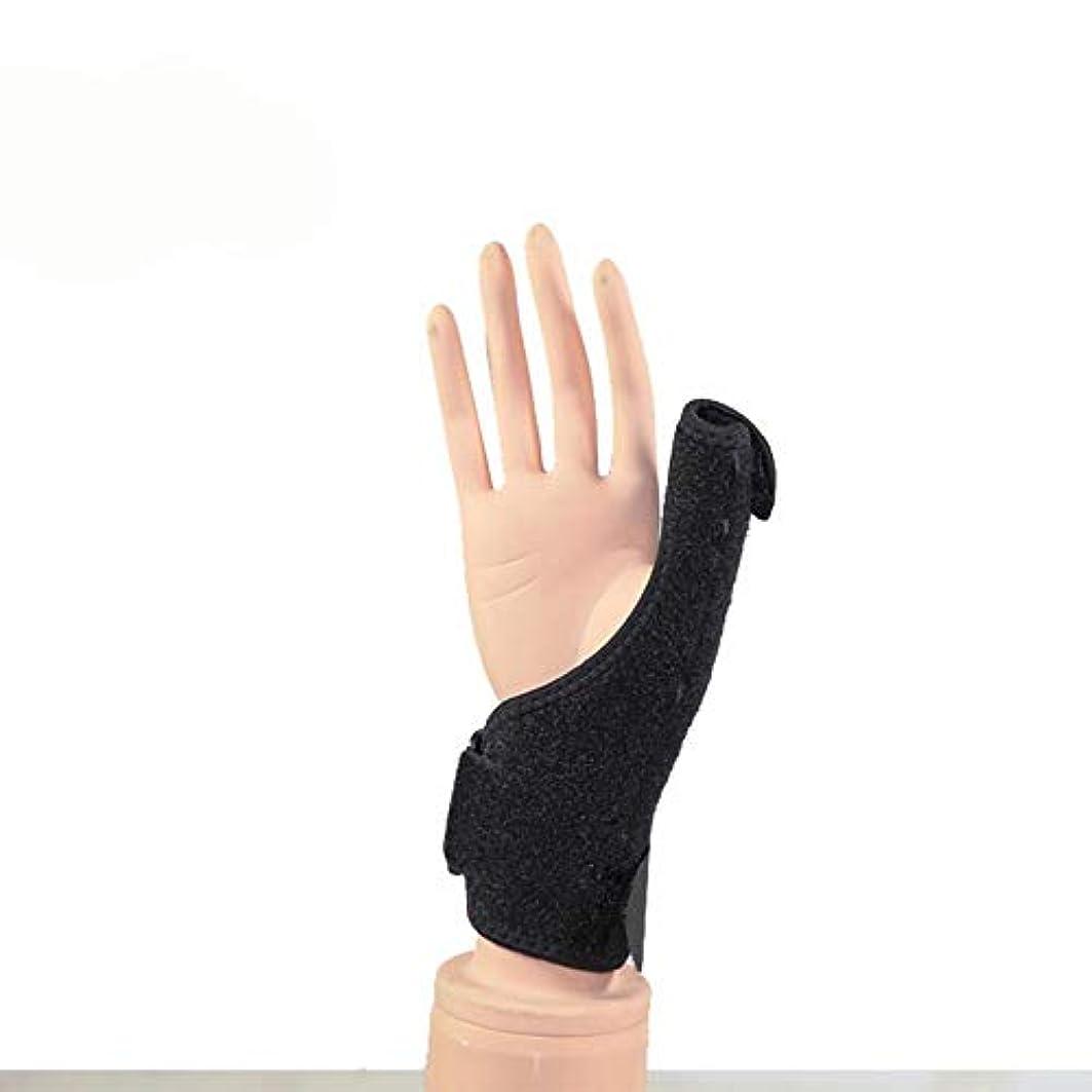 染色リール歌詞ZYL-YL 手首のプロテクターの親指の腱鞘ケア固定されたブラケット指先リストバンド外部保護 (Edition : Right)