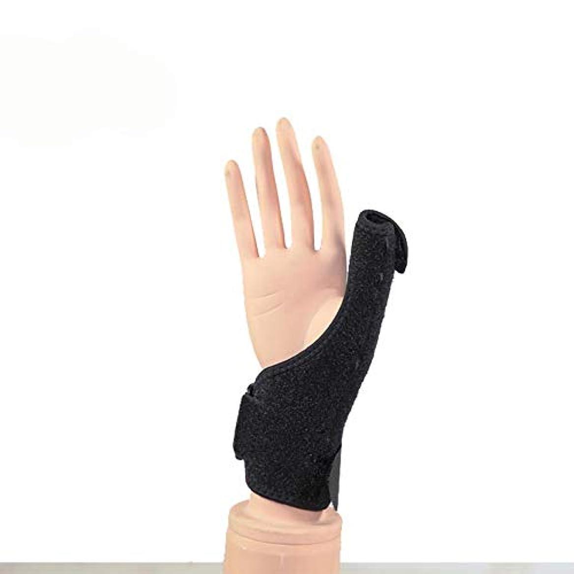 論争便利講師ZYL-YL 手首のプロテクターの親指の腱鞘ケア固定されたブラケット指先リストバンド外部保護 (Edition : Right)