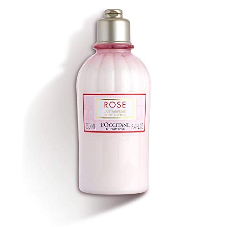 パキスタン花に水をやる尾ロクシタン(L'OCCITANE) ローズ ベルベットボディミルク 250ml