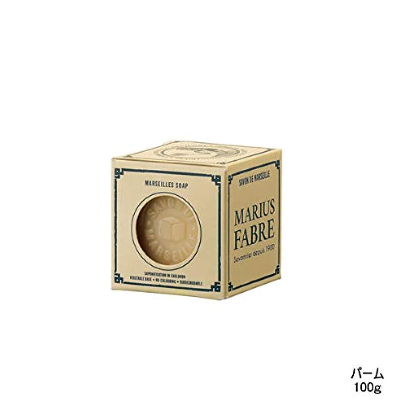 好奇心ゾーン極めて重要なマリウス ファーブル サボン ド マルセイユ ネイチャー パーム 100g [並行輸入品]