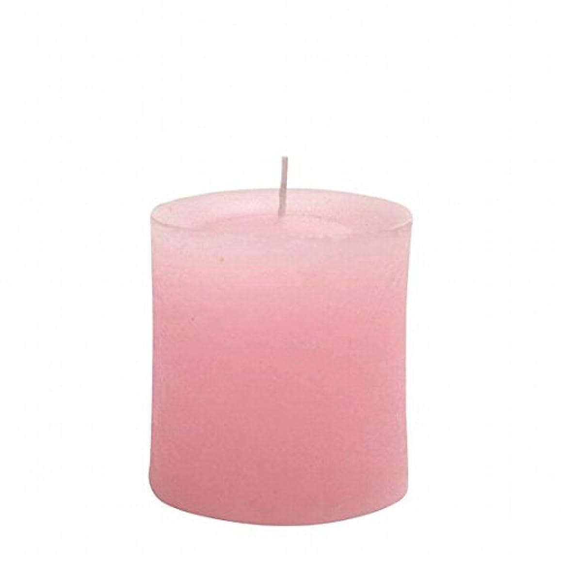 ヤンキーキャンドル(YANKEE CANDLE) ラスティクピラー70×75 「 ピンク 」