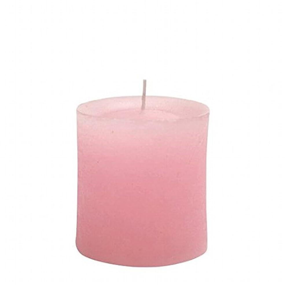 医薬品ムスタチオ提供するヤンキーキャンドル(YANKEE CANDLE) ラスティクピラー70×75 「 ピンク 」