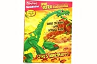 Imaginext Spike the Ultra Dinosaur Giant Colouring and Activity Book