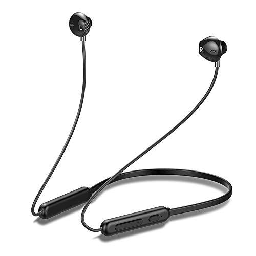 Bluetooth イヤホン スポーツイヤホン Hi-Fi 高音質 低音重視 ワイヤレス イヤホン マイク 9時間連続再生 内蔵 ハンズフリー通話 CVC6.0 ノイズキャンセリング搭載 IPX5防水・防汗・防滴 iPhone&Sony対応