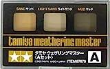 ウェザリングマスター Bセット ( スノー・スス・サビ ) 3色セット tm080 ウェザリング ( 汚し表現 ) を手軽に
