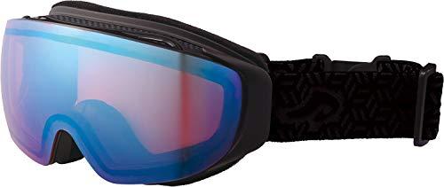 AXE(アックス) スキー メンズ ゴーグル 偏光レンズ・ヘルメット対応・メガネ対応・ノーズフィット・UVプロテクション ハイコントラストレンズ[RealLook] マットブラック AX899HCM