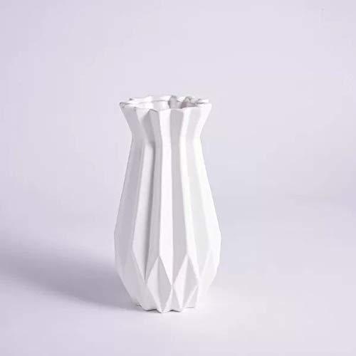 セラミック 花瓶 フラワーベース 花器 ホワイト (セラミック 花瓶)