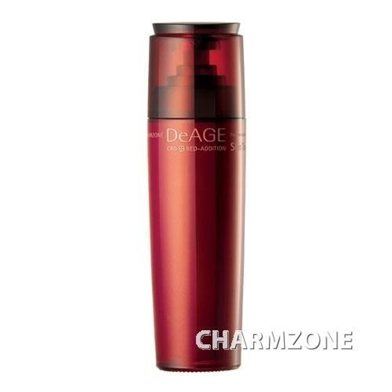 不信ボンド火傷CHARMZONE DeAGE RED-ADDITION Skin Toner [Korean Import]