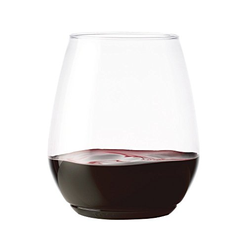 TOSSWARE 18oz タンブラー - 3個セット - BPAフリーリサイクル可能/プレミアムワンウェイ プラスチック製タンブラー ワイングラス
