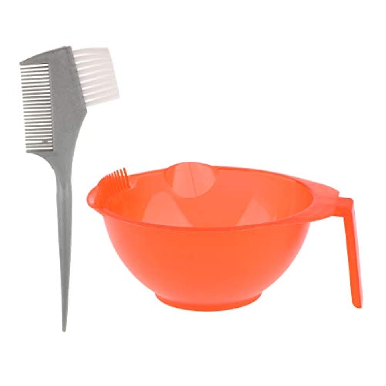 CUTICATE ヘアダイ カップ + ヘア染めブラシ 美髪サロン工具 ヘアカラー ヘア染め 髪染めブラシ