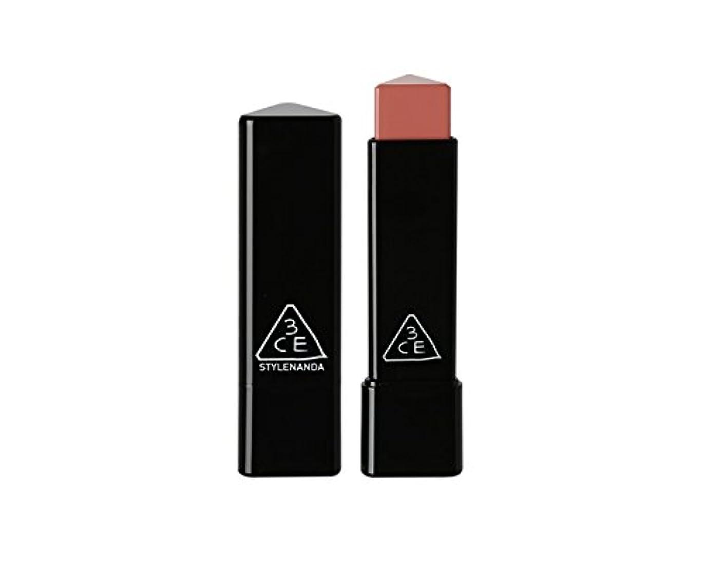 水差し証明中古3CE スロージャム三角形口紅 3 Concept Eyes Style Nanda Glow Jam Stick Triangle Lipstick (正品?海外直送品) (Longing)