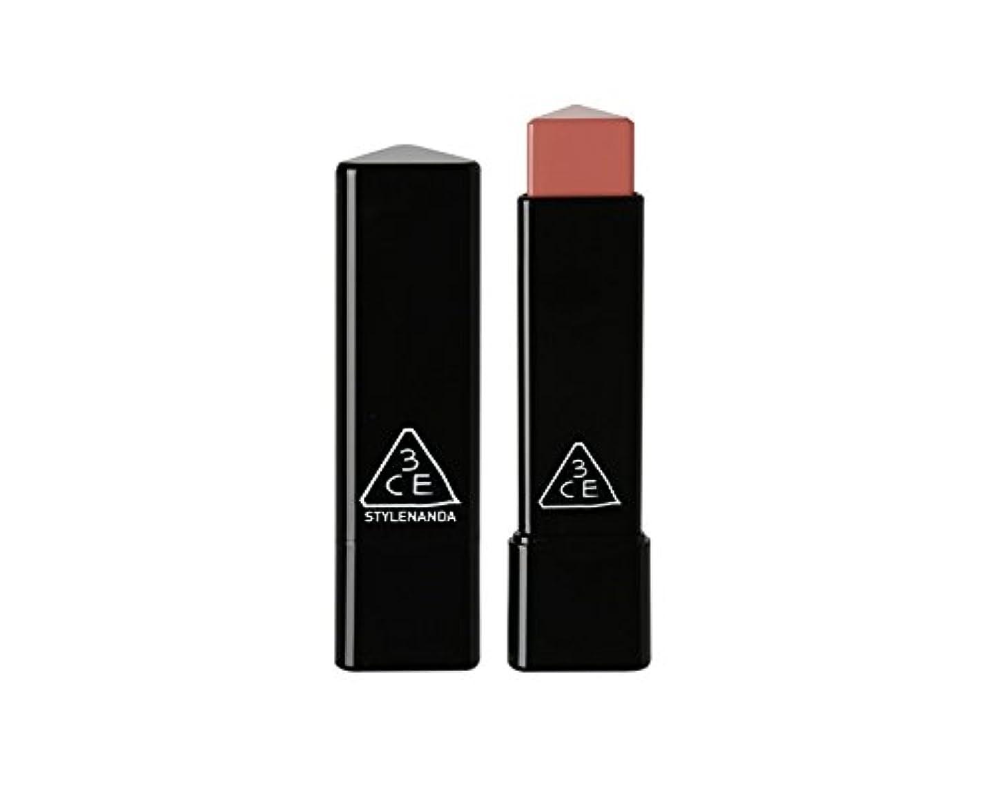 修道院半円エキゾチック3CE スロージャム三角形口紅 3 Concept Eyes Style Nanda Glow Jam Stick Triangle Lipstick (正品?海外直送品) (Longing)