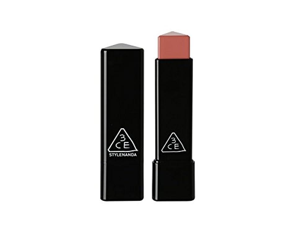 一方、正確さふくろう3CE スロージャム三角形口紅 3 Concept Eyes Style Nanda Glow Jam Stick Triangle Lipstick (正品?海外直送品) (Longing)