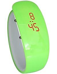 Ochine レディース メンズ 腕時計 ボーイズ LED腕時計 デジタルウォッチ シンプル シリコン おしゃれ 男女兼用 ヨガ、テニス、登山に 贈り物 全10色