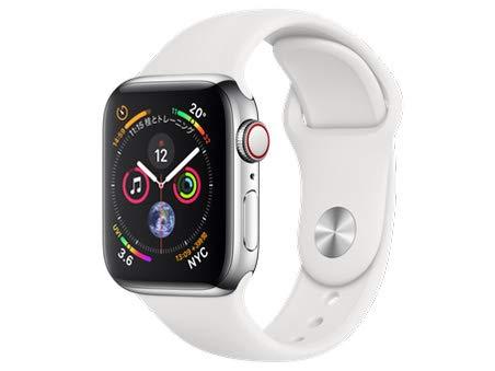Apple Watch Series 4ホワイトスポーツバンド40mm
