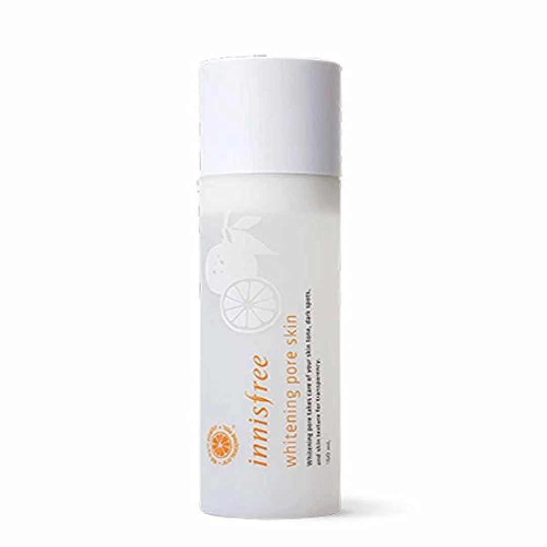 ダニ物語脚本イニスフリーホワイトニングポアスキン(トナー)150ml Innisfree Whitening Pore Skin(Toner) 150ml [海外直送品][並行輸入品]