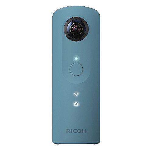 RICOH 360°カメラ RICOH THETA SC (ブルー) 全天球カメラ 910743