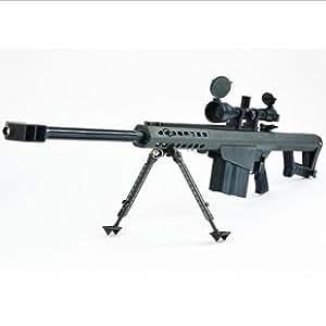 [リアルな迫力100% 原寸大 1:1スケール] バレットM82A1 ペーパークラフト 【銃弾痕シール付】