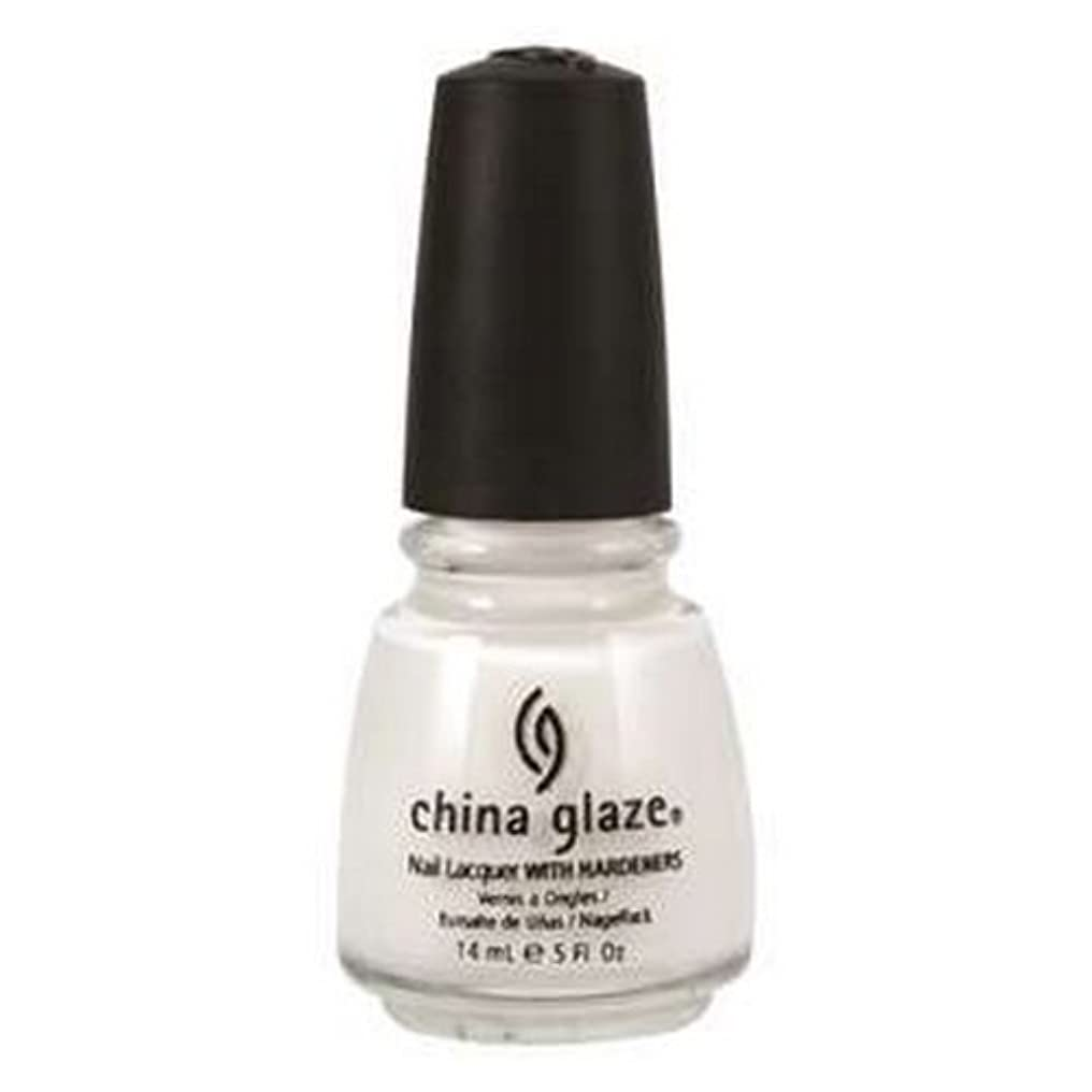 抽象ビンミリメートル(3 Pack) CHINA GLAZE Nail Lacquer with Nail Hardner 2 - Snow (並行輸入品)
