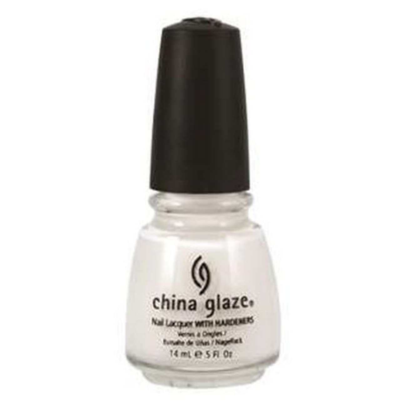 国家刺すサーカスCHINA GLAZE Nail Lacquer with Nail Hardner 2 - Snow (並行輸入品)