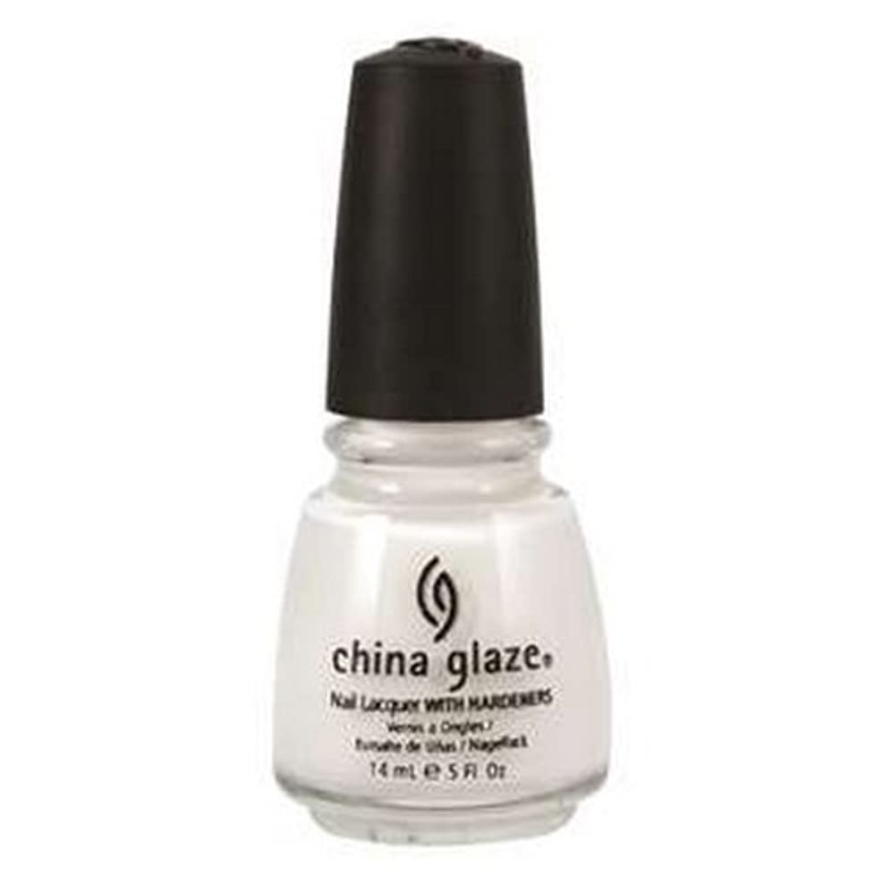 学ぶ性差別保育園CHINA GLAZE Nail Lacquer with Nail Hardner 2 - Snow (並行輸入品)