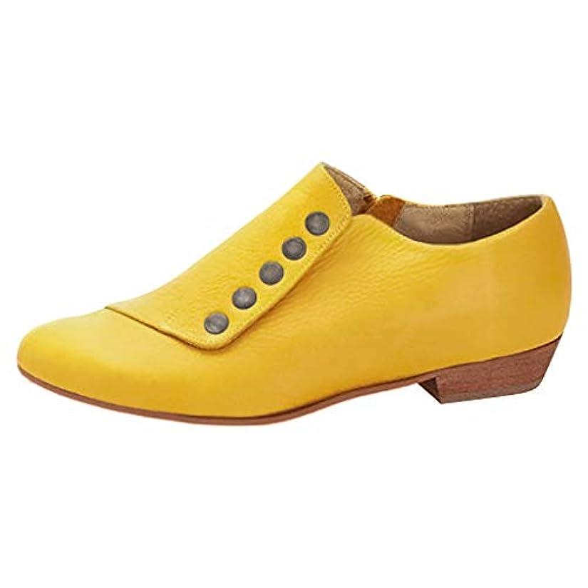 シンプトン月素晴らしいです[Sucute] マーチンシューズ ワークブーツ オックスフォード レースアップ レディース 革靴 ブーティ ボア付き おじ靴 ヒール シューズ 通勤 通学 レディース 靴 フラットヒール (22.5-26.5cm)
