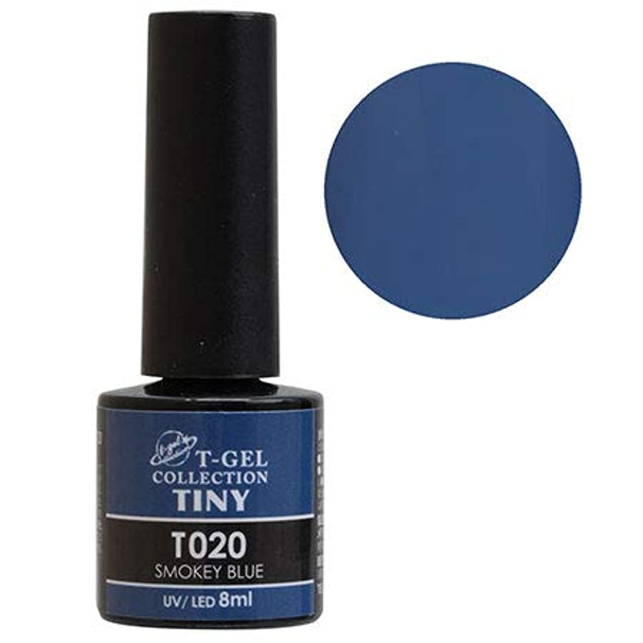 T-GEL COLLECTION TINY T020 スモーキーブルー 8ml