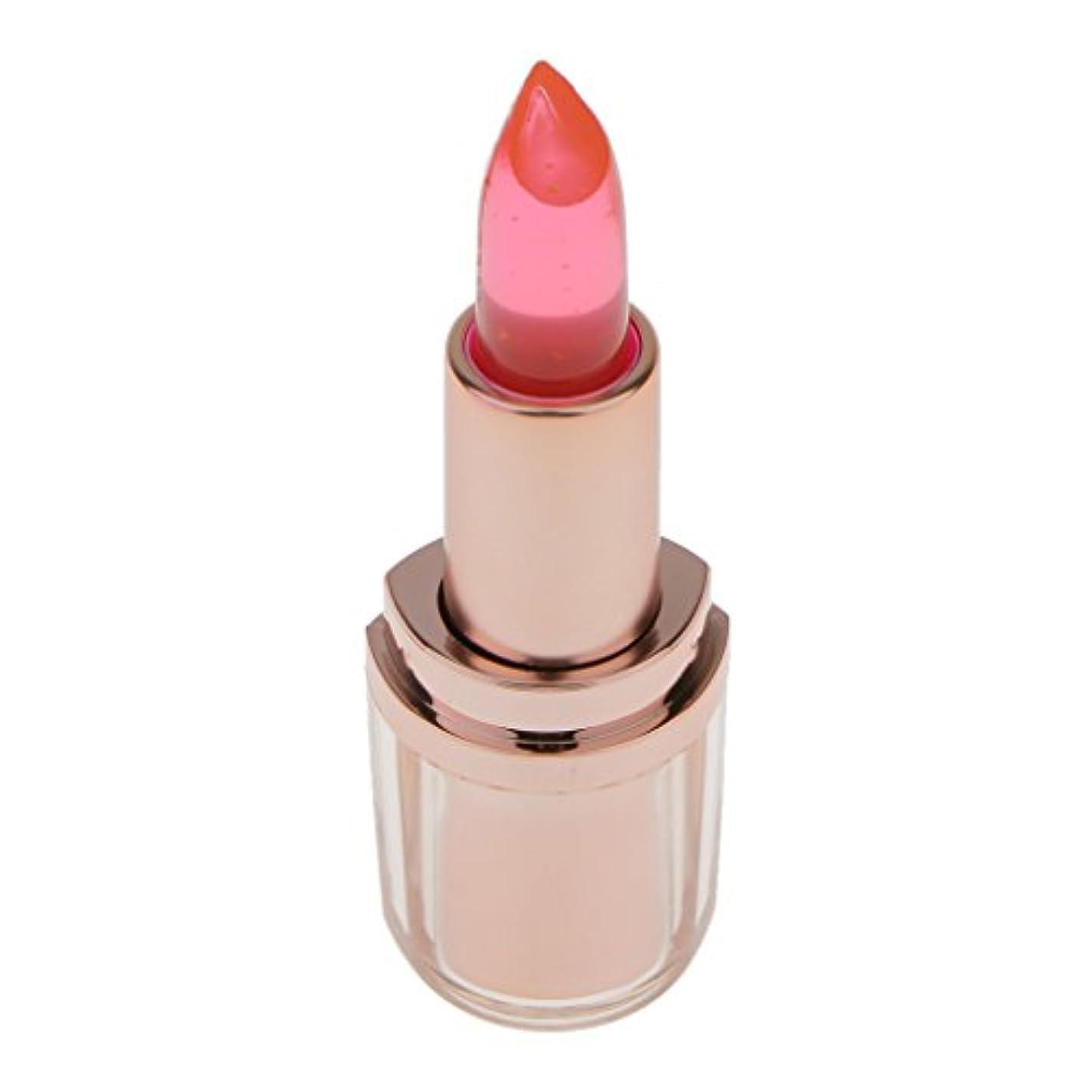 免除するそうでなければプールInjoyo マジックゼリーの口紅の色温度を変える長続きがする唇の光沢はさみ金の鉛筆の保湿-利用できる3色 - 2#, 7.5センチメートル