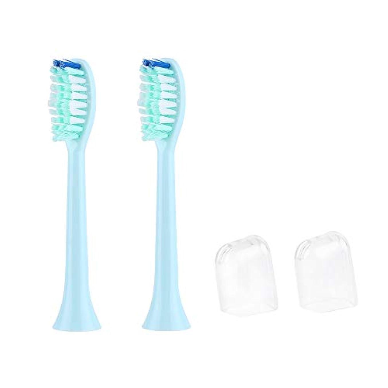 ミント平衡システムAILOVA 電動歯ブラシ用 替ブラシ 2本入 互換ブラシ ブラシヘッド やわらかめ