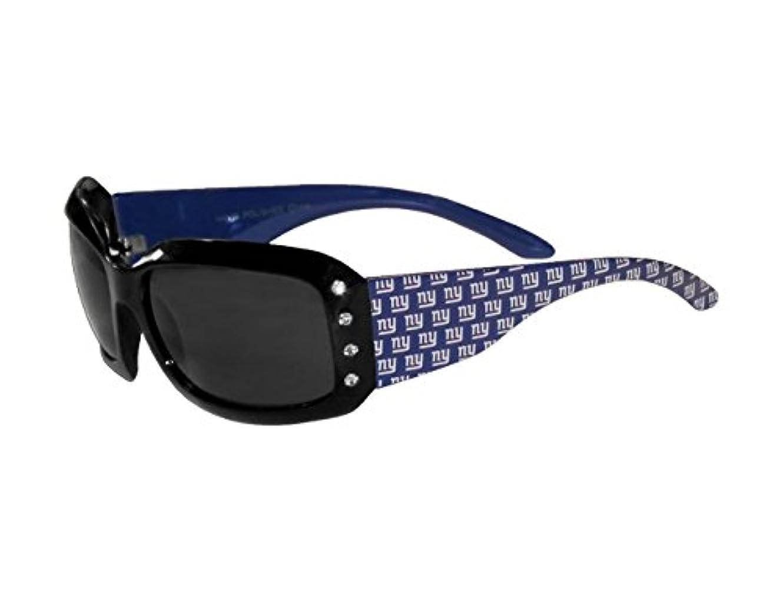 息切れ第二に我慢するSiskiyou Sports FSG090W Giants Designer Sunglasses with Rhinestones