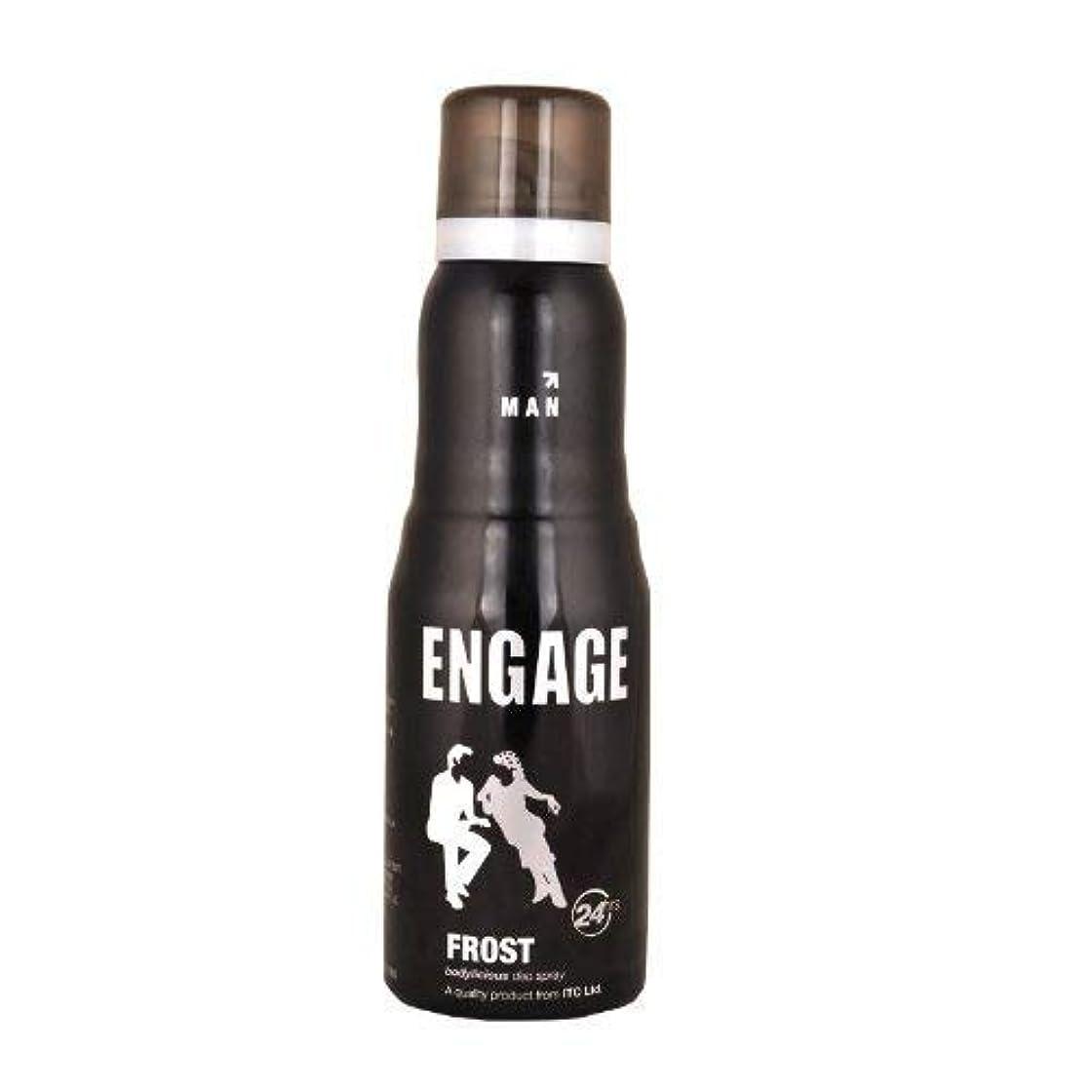 バーガー正確にハンドブックEngage New Metal Range Frost Deodorant Spray For Men, 150ml / 165ml (Weight May Vary)