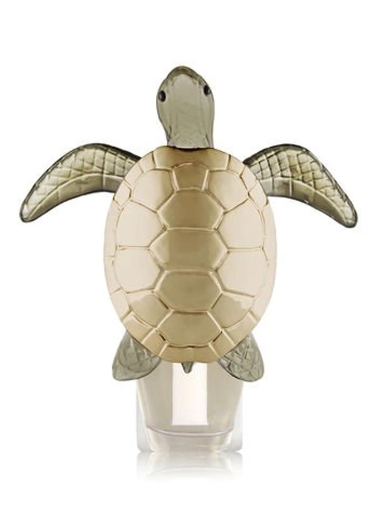 怪しいタービン急性Bath and Body Works Sea Turtle Nightlight Wallflowers Fragrance Plug。