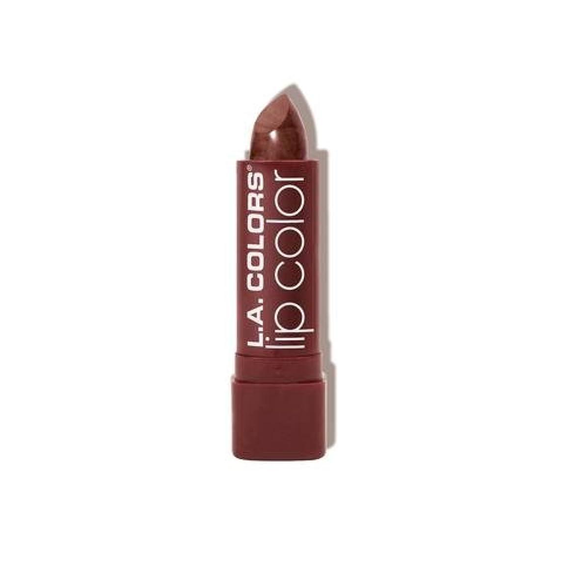 ドナウ川グリップ曇ったL.A. COLORS Moisture Rich Lip Color - Cocoa Shimmer (並行輸入品)