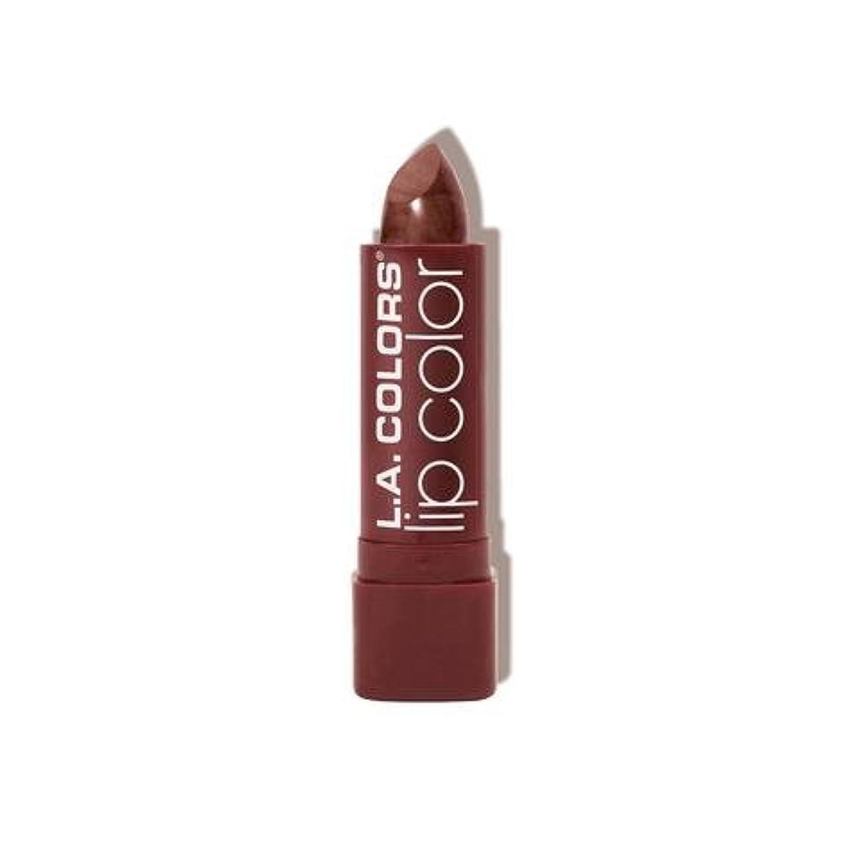 スクリーチ表面的な愛人L.A. COLORS Moisture Rich Lip Color - Cocoa Shimmer (並行輸入品)