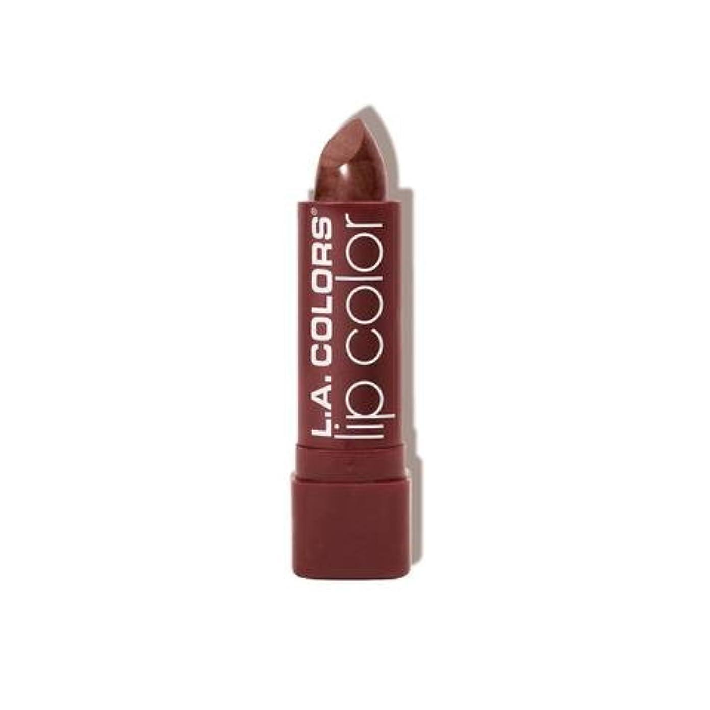 オンス好色な水族館L.A. COLORS Moisture Rich Lip Color - Cocoa Shimmer (並行輸入品)