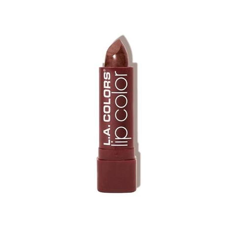 サンドイッチレキシコン希望に満ちたL.A. COLORS Moisture Rich Lip Color - Cocoa Shimmer (並行輸入品)