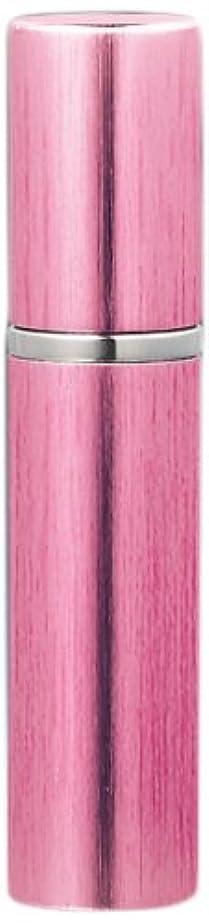 花瓶チチカカ湖孤独な18405 メタルアトマイザー メタルポンプ ヘアラインピンク