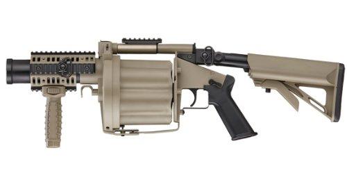 ICS ガス リボルバー・ランチャー MGL MGL140タイプ DE