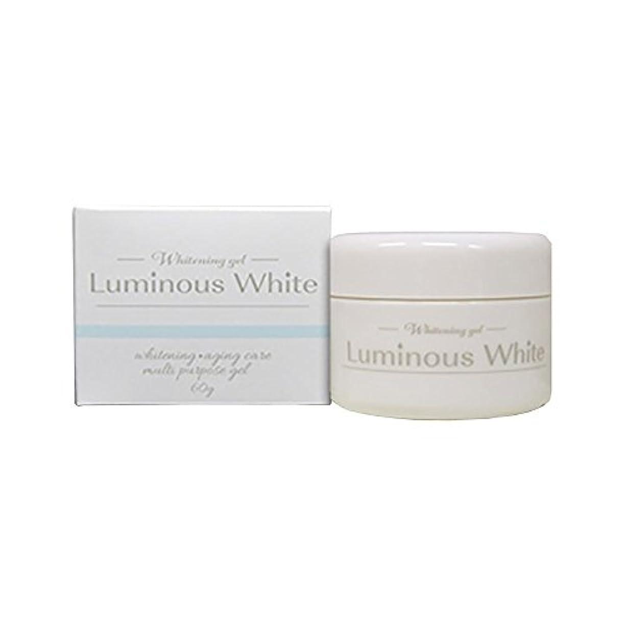 壮大な規定平らなルミナスホワイト 薬用ホワイトニングジェル