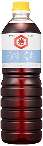 キッコーイワ醤油 うすくち醤油 1L