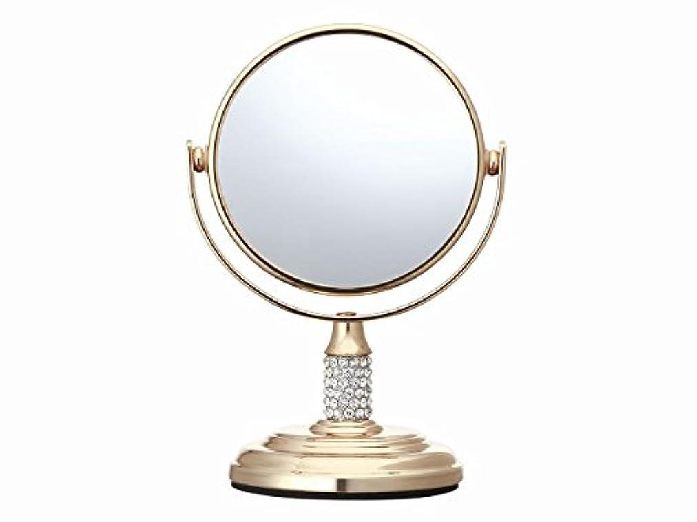 破壊的な余分な嫌がるコイズミ 拡大鏡 サイズφ75mm ゴールド KBE-3052/N