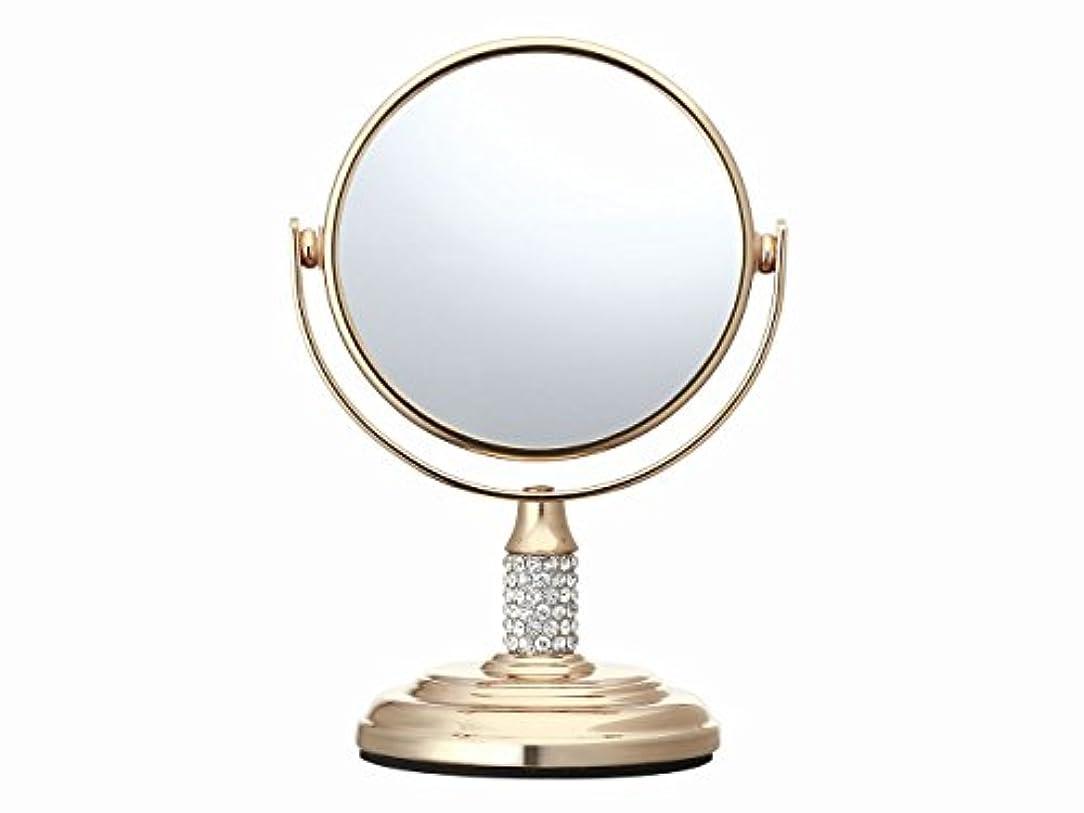 書き出す膜タヒチコイズミ 拡大鏡 サイズφ75mm ゴールド KBE-3052/N